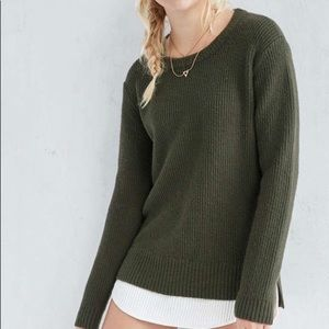 NWOT Urban Outfitters Olive Pullover Sweater